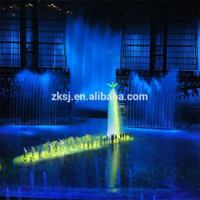 Large Water Screen Led Dance Fountain show