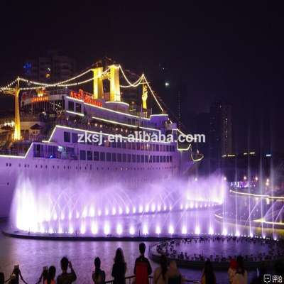 Outdoor Music Dancing Laser Movie Water Screen Fountain for Sale