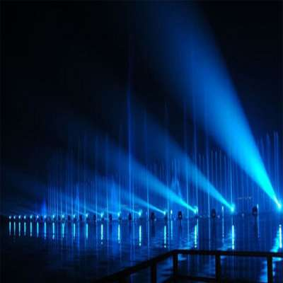 LARGE SCALE IN CHARGE INSTALLATION RGB UNDERWATER LIGHT MUSIC DANCING WATER FOUNTAIN