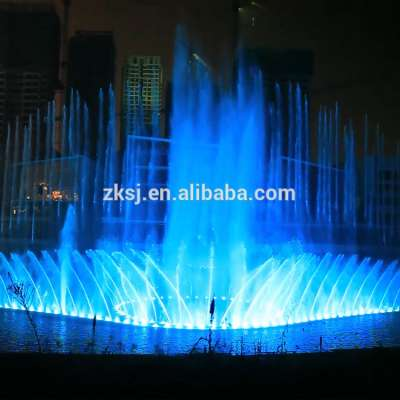 Outdoor large scale waterscape park project laser lighting show musical dancing water screen fountain