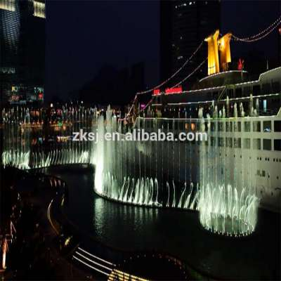 Beijing manufacture led light digital music water laser fountain show