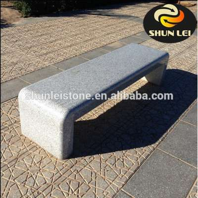 Cheap outdoor cement stone garden bench