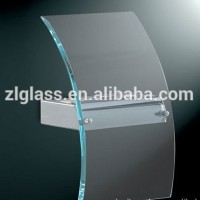 12mm curved hot bend sheet glass for aquarium