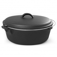 camping cast iron dutch oven