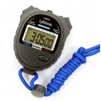 10 Lap Colorful Digital Professional Handheld LCD Chronograph Water Resistant Stop Watch for school