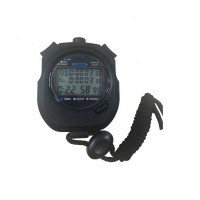 OEM Classic Digital Handheld Lcd Chronograph Sports Stopwatch Timer Stop Watch With String